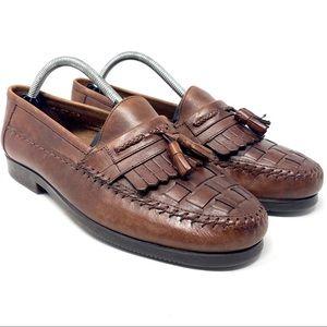 Giorgio Brutini Men's Antigua Brown Leather Loafer